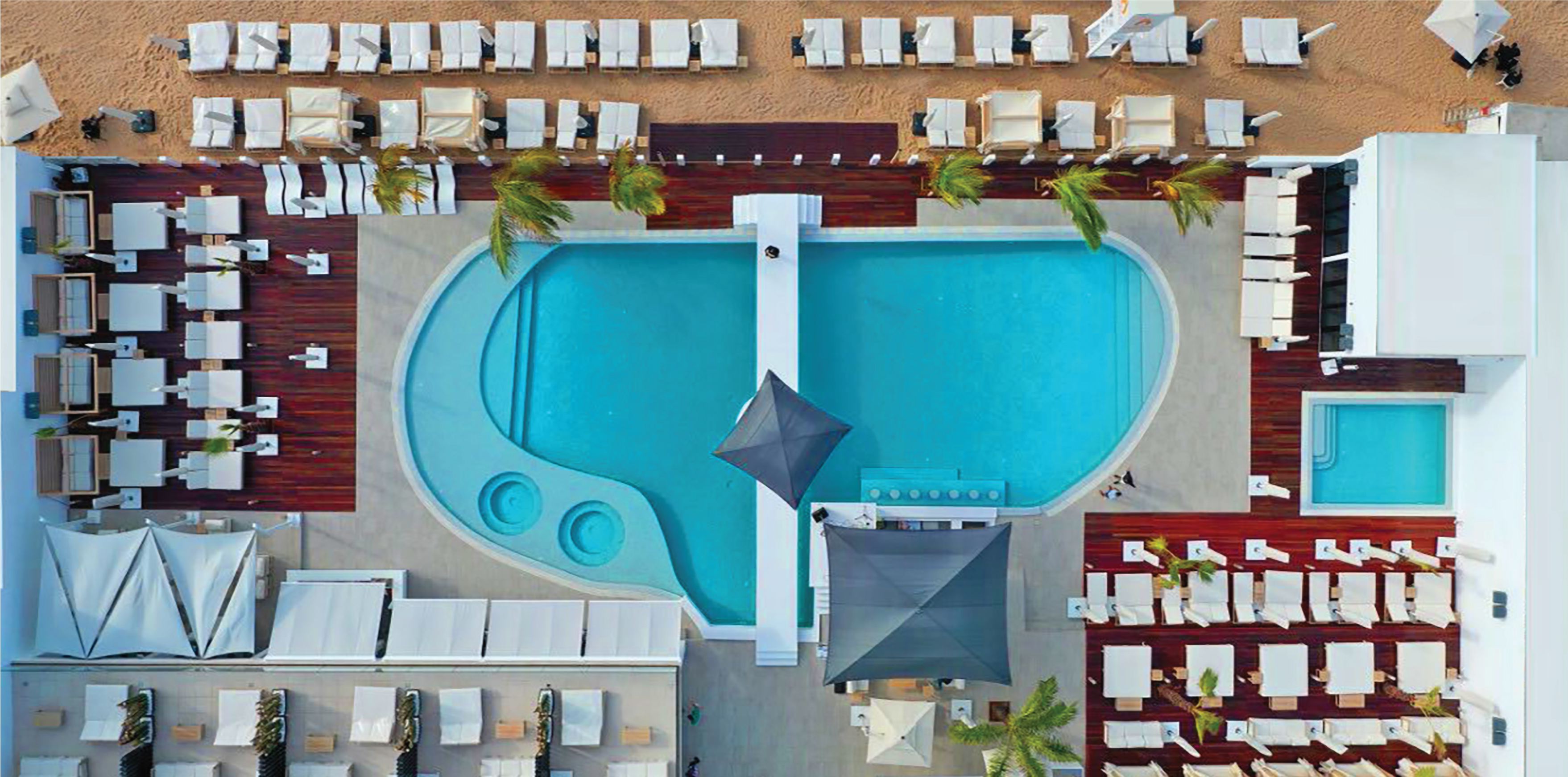 Claim | Lookal Beach Club | Imagem piscina